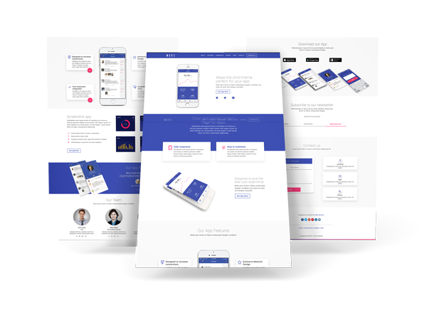 wave-material-child-theme-for-divi